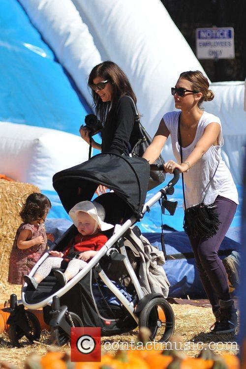 Jessica Alba and Haven Garner Warren 7