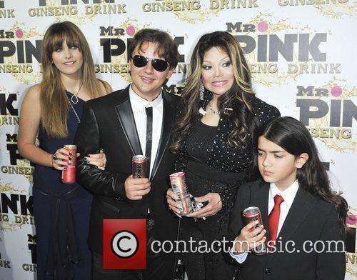 Paris, Prince, La Toya and Blanket Jackson