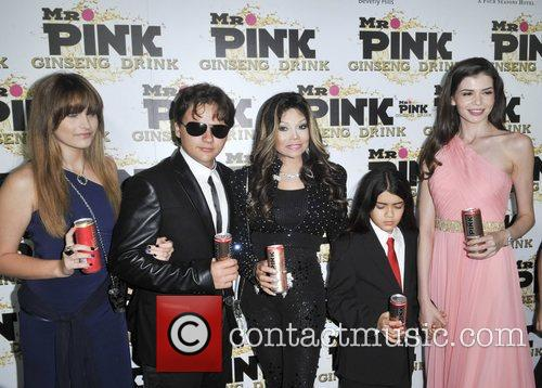 Mr. Pink's Ginseng Energy Drink launch at the...