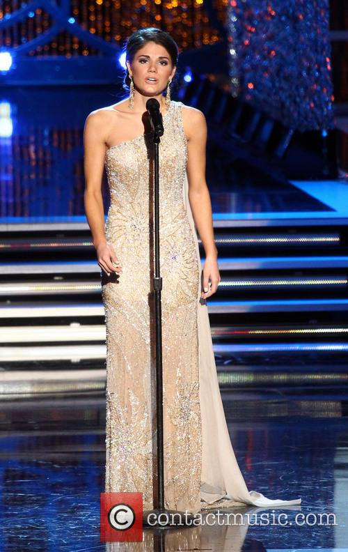 Miss America 2012 Laura Kaeppeler, Miss Illinois Megan...