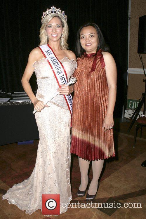 Carla Gonzalez, Estrella Harrington 2012 Ms. America Pageant...