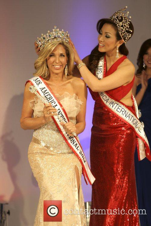 Carla Gonzalez, Kimberly Vondang 2012 Ms. America Pageant...