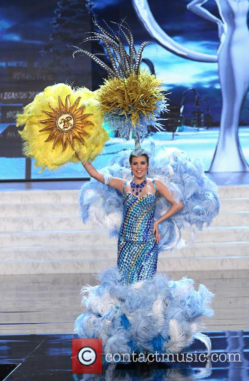 Miss Universe Pageant Costume, Show At, Live Theatre Inside Planet, Hollywood Resort and Casino Las Vegas 3