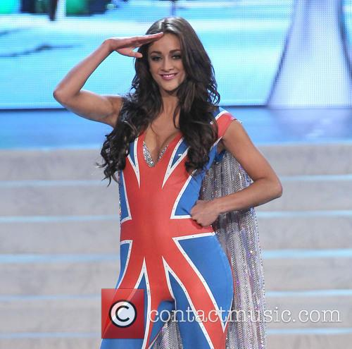 Miss Universe Pageant Costume, Show At, Live Theatre Inside Planet, Hollywood Resort and Casino Las Vegas 11