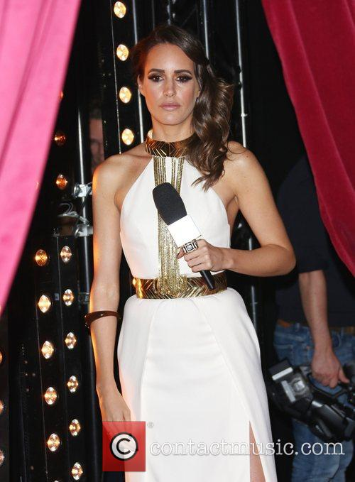 louise roe the mtv emas 2012 held 5948690