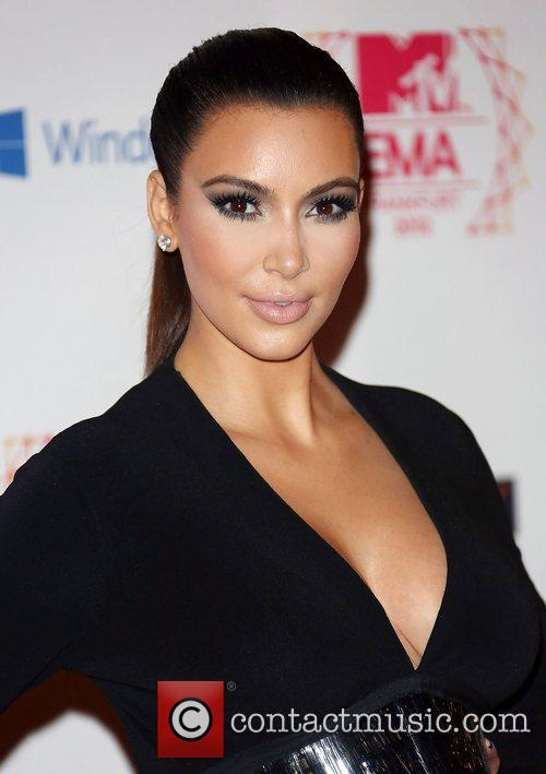 kim kardashian the mtv emas 2012 held 4170197