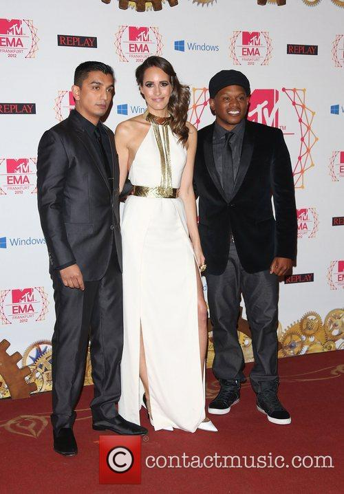 Tim Cash, Louise Roe and Sway 3