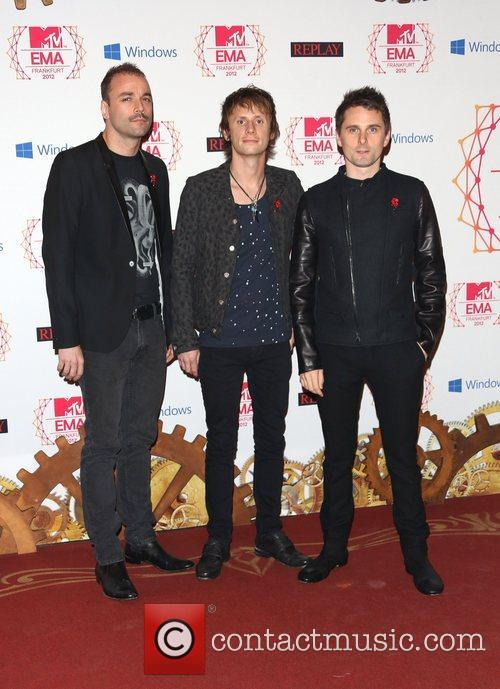 Chris Wolstenholme, Dominic Howard, Matthew Bellamy, Muse