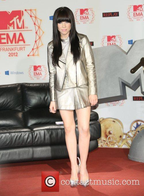 MTV EMA's 2012 - photocall held at Frankfurt...