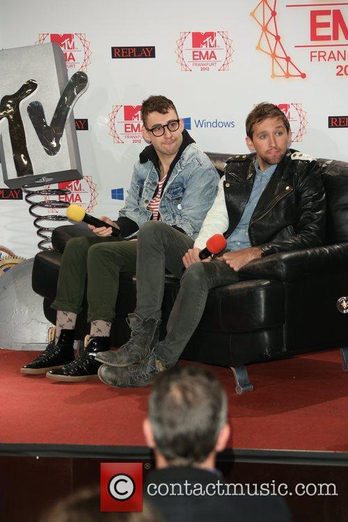 Andrew Dost and Jack Antonoff 1