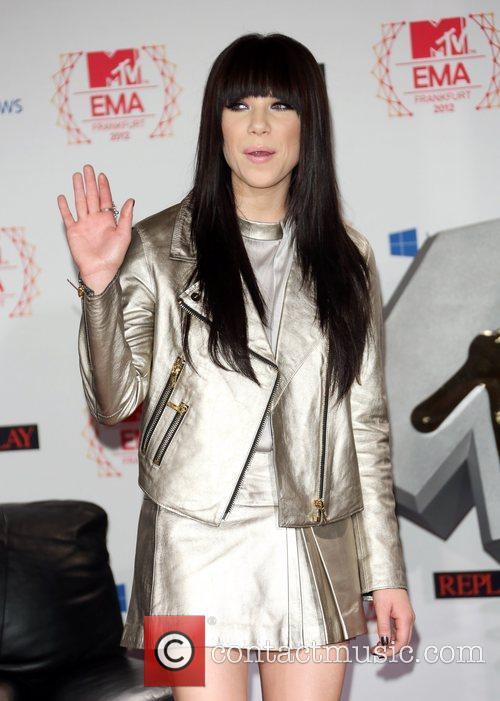 MTV EMA's 2012 - photocall