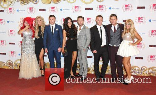 cast of geordie shore the mtv emas 5948485