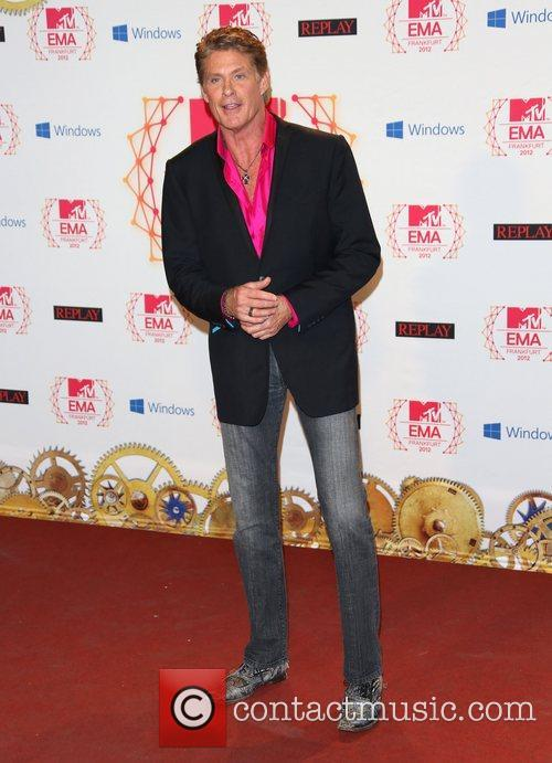 The MTV EMA's 2012 held at Festhalle -...