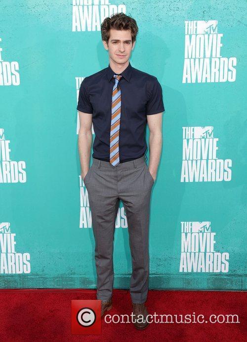 Andrew Garfield MTV Movie Awards at Universal Studios...