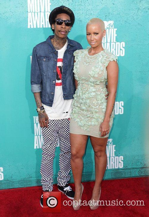 Wiz Khalifa, Amber Rose and Mtv Movie Awards 3
