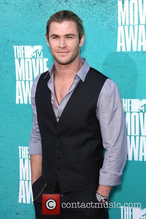Chris Hemsworth MTV Movie Awards at Universal Studios...