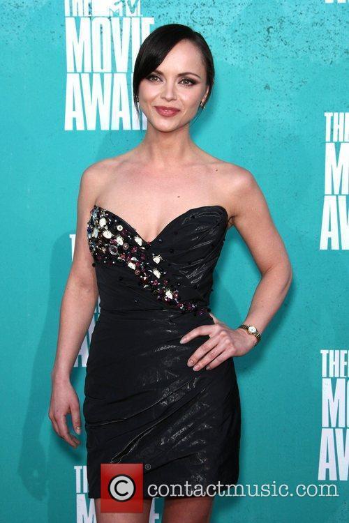 Christina Ricci MTV Movie Awards at Universal Studios...