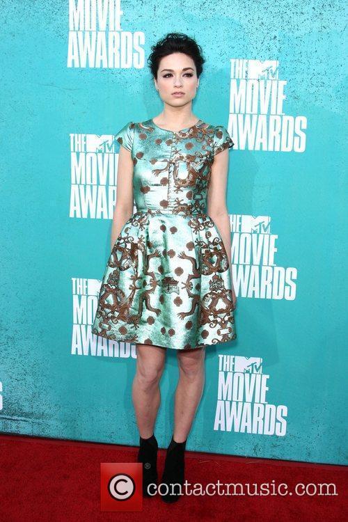 Crystal Reed MTV Movie Awards at Universal Studios...