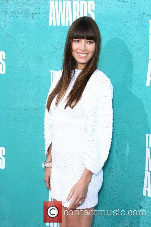 Jessica Biel MTV Movie Awards at Universal Studios...
