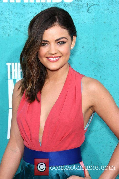 Lucy Hale MTV Movie Awards at Universal Studios...