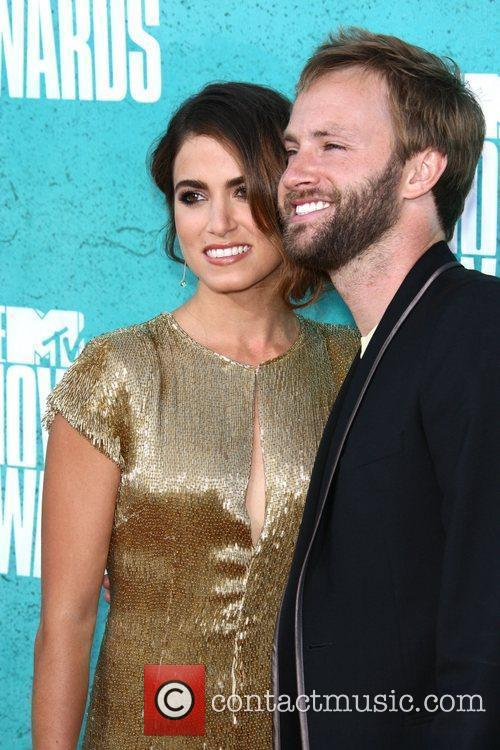 Nikki Reed and musician Paul McDonald MTV Movie...