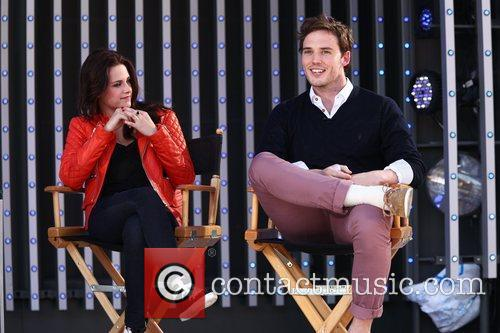 Kristen Stewart and Sam Claflin 2