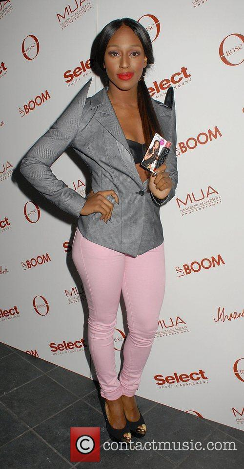 Alexandra Burke at the launch of LIPBOOM created...