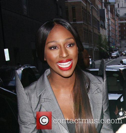 Alexandra Burke The launch of LIPBOOM created with...