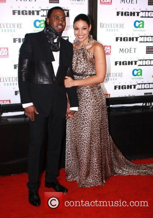 Jordan Sparks and Jason Derulo Muhammad Ali's Celebrity...