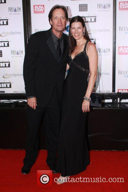Kevin Sorbo and wife Sam Jenkins Muhammad Ali's...
