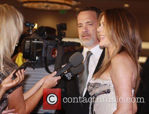 Tom Hanks and his wife Rita Wilson Muhammad...