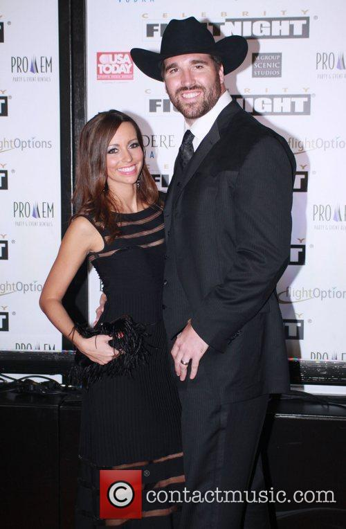 Jared Allen and his wife Amy Johnson...