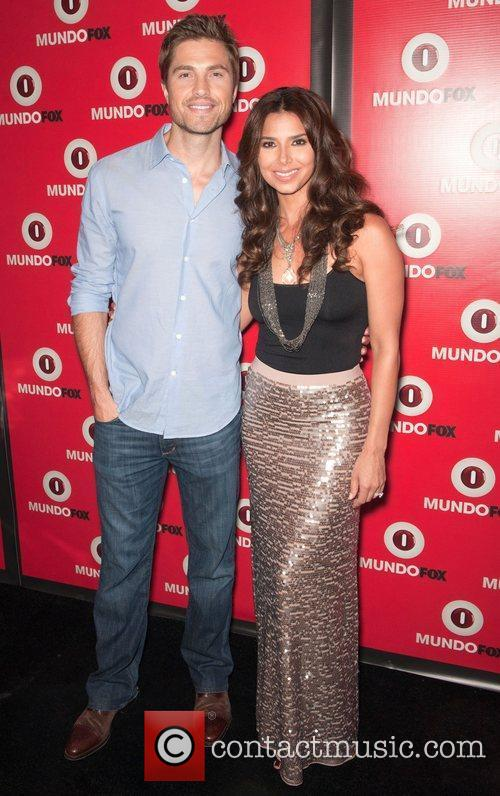Eric Winter and Roselyn Sanchez MundoFOX Launch Party:...