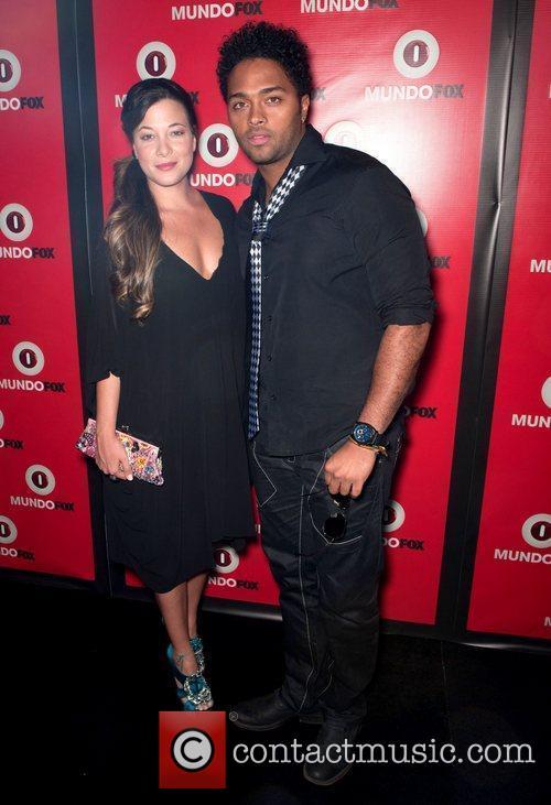 Maria Adelaida and Jair Romero MundoFOX Launch Party:...
