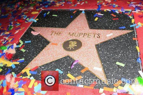The Muppets are honored with a Star on...