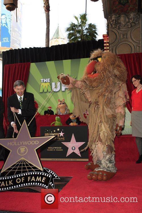 The Muppets and Star On The Hollywood Walk Of Fame 2