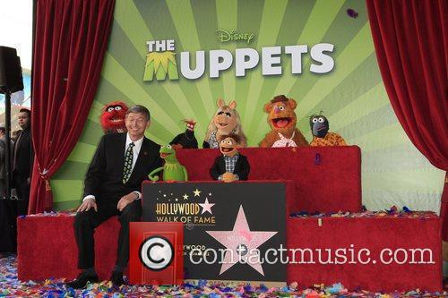 The Muppets and Star On The Hollywood Walk Of Fame 3