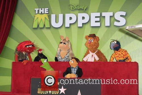 The Muppets and Star On The Hollywood Walk Of Fame 7