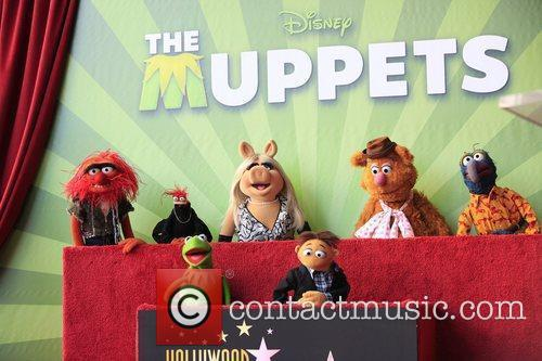 The Muppets and Star On The Hollywood Walk Of Fame 8