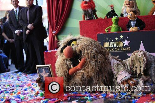 The Muppets and Star On The Hollywood Walk Of Fame 1