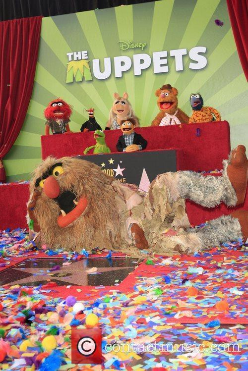 The Muppets movie premiere