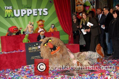 The Muppets and Star On The Hollywood Walk Of Fame 4
