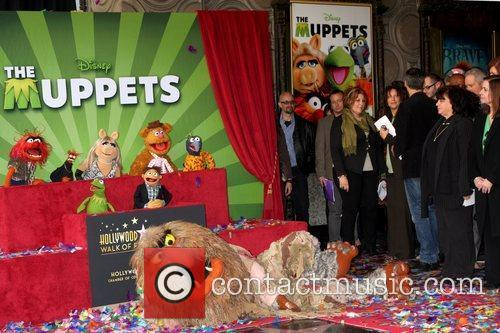 The Muppets and Star On The Hollywood Walk Of Fame 5