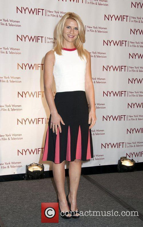 Claire Danes at the New York Women In...