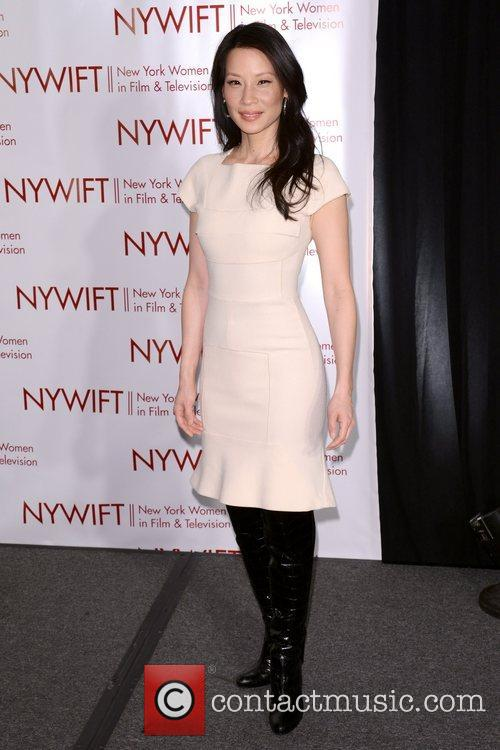 Lucy Liu 2012 New York Women in Film...