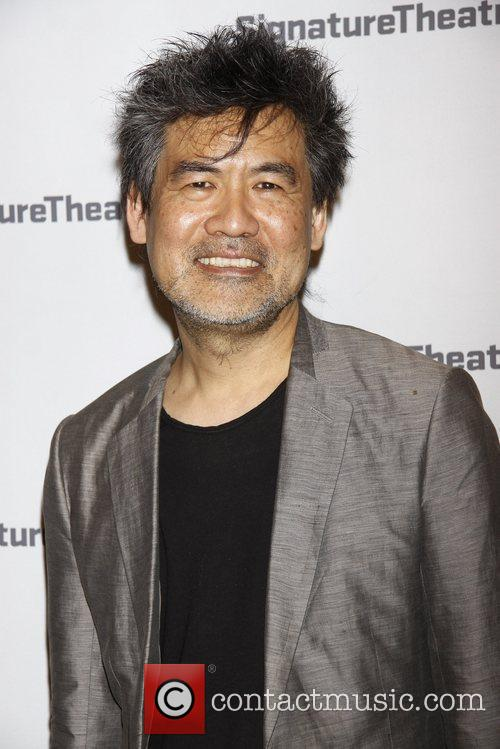 David Henry Hwang  Opening night party for...
