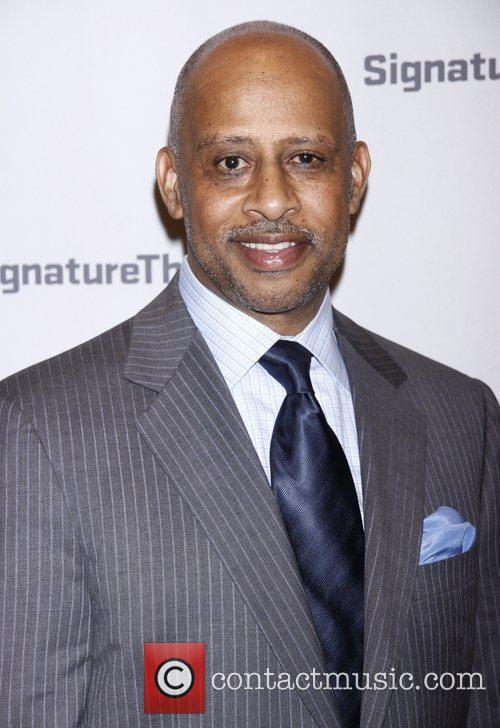Ruben Santiago-Hudson  Opening night party for the...