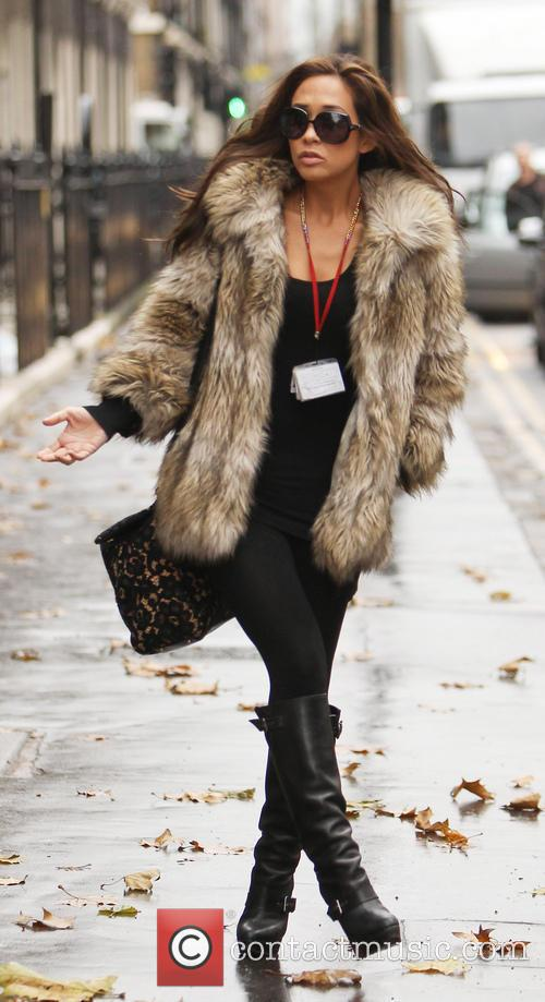Myleene Klass and London 4