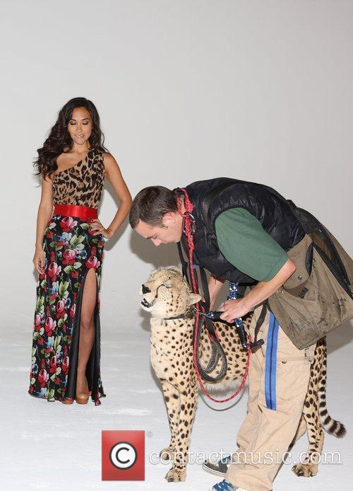 Myleene Klass and Cheetah 3