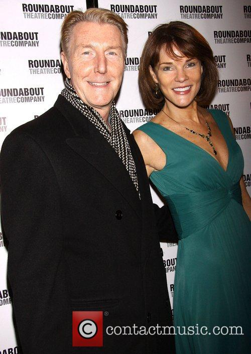 Byron Jennings and Carolyn McCormick Broadway opening night...